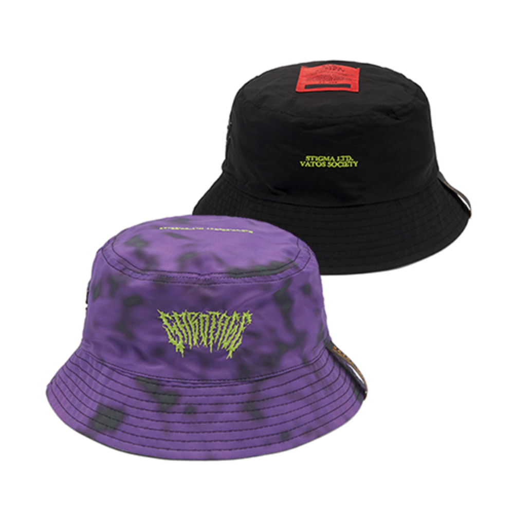 [스티그마]GAUSSIAN REVERSIBLE BUCKET HAT - PURPLE