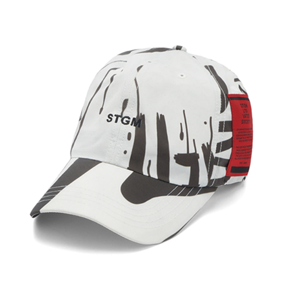 [스티그마]20 GRAFFITI BASEBALL CAP - WHITE