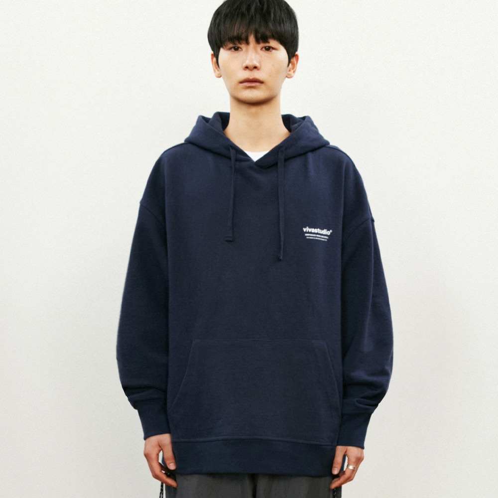 [비바스튜디오] LOCATION HOODIE KS - NAVY