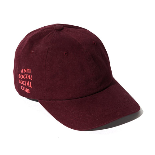 [Anti Social Social Club] Weird Cap - Maroon