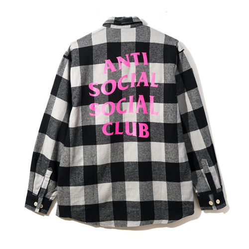 [Anti Social Social Club] Han Flannel