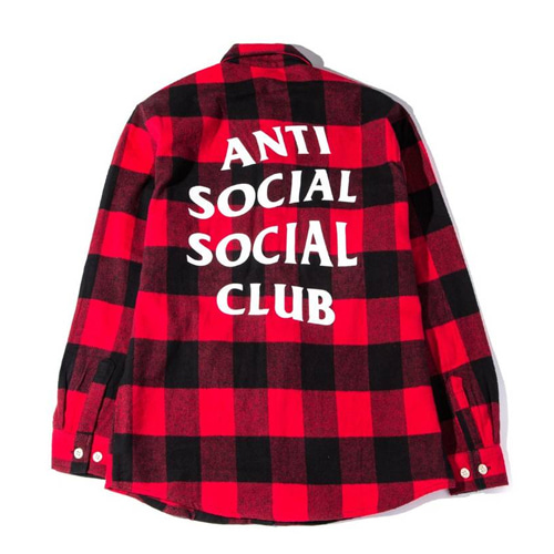 [Anti Social Social Club] No Expectations Flannel