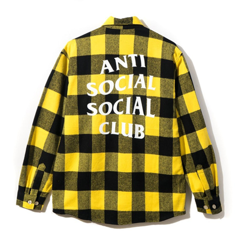 [Anti Social Social Club] Canal St. Flannel