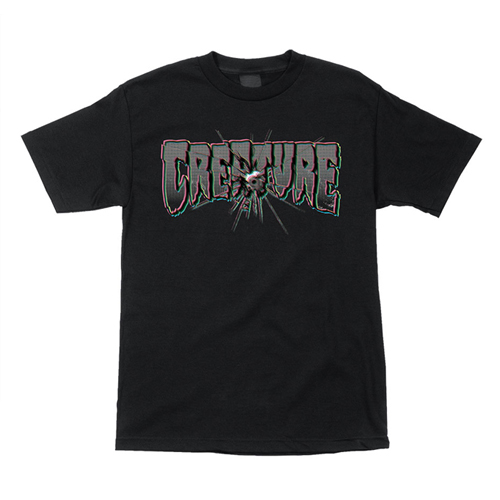 [CREATURE] PHANTASM S/S TEE - Black