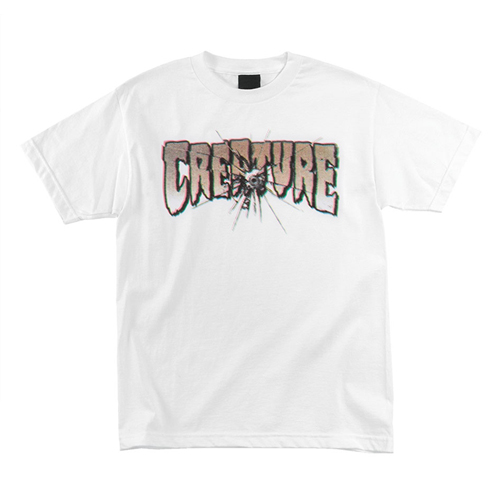 [CREATURE] PHANTASM S/S TEE - White