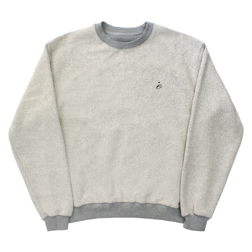 [EASY BUSY] Reversed Sweatshirts - Grey