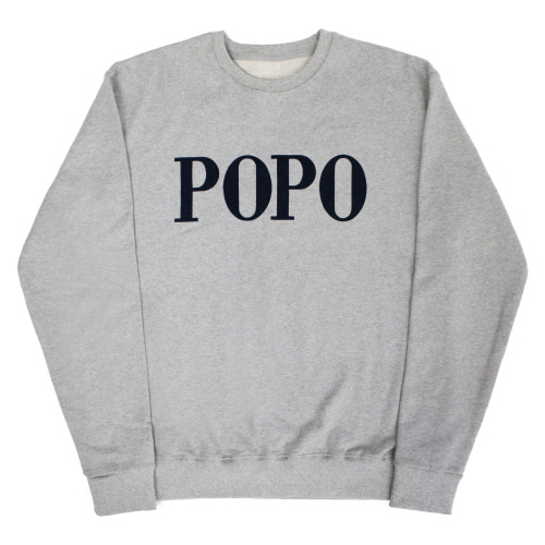 [EASY BUSY] POPO' Sweatshirts - Grey