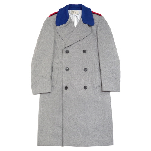 [EASY BUSY] Oversize Military Coat - Grey