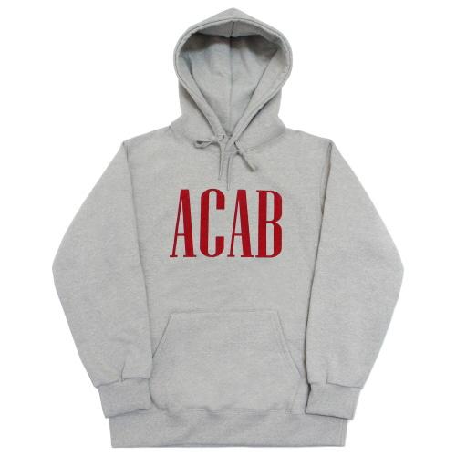 [EASY BUSY] 'ACAB' Hoodie - Grey