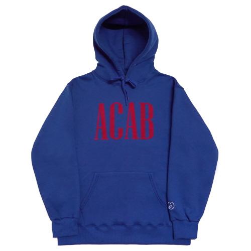 [EASY BUSY] 'ACAB' Hoodie - Blue