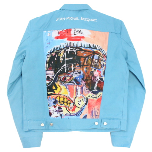 [EASY BUSY x JMB] JMB Back Painting Trucker - Blue