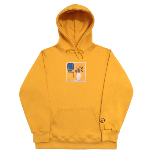 [EASY BUSY x JMB] JMB Hoodie Type.2 - Yellow
