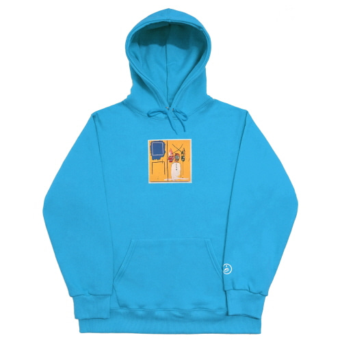 [EASY BUSY x JMB] JMB Hoodie Type.2 - Light Blue