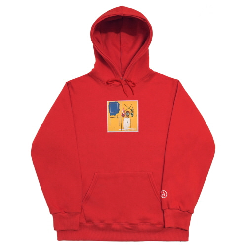 [EASY BUSY x JMB] JMB Hoodie Type.2 - Red