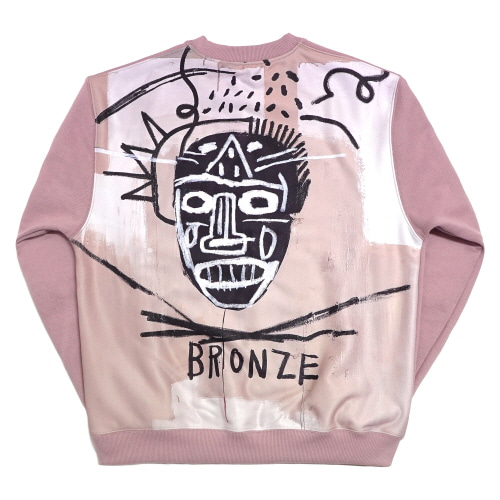 [EASY BUSY x JMB] JMB Back Painting Sweatshirts - Pink