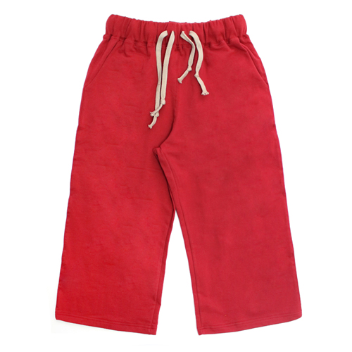 [EASY BUSY] Capri Training Pants - Red