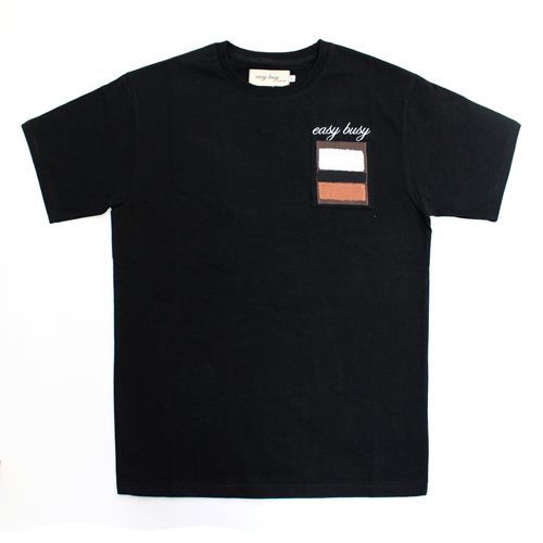 [EASY BUSY] Rothko T-Shirts - Black
