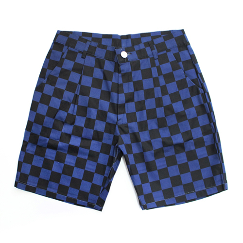 [EASY BUSY] Half Shorts - Black&Blue