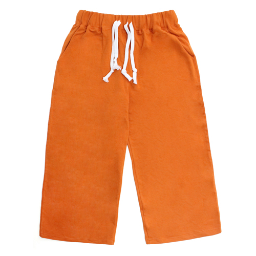 [EASY BUSY] Capri Training Pants - Orange