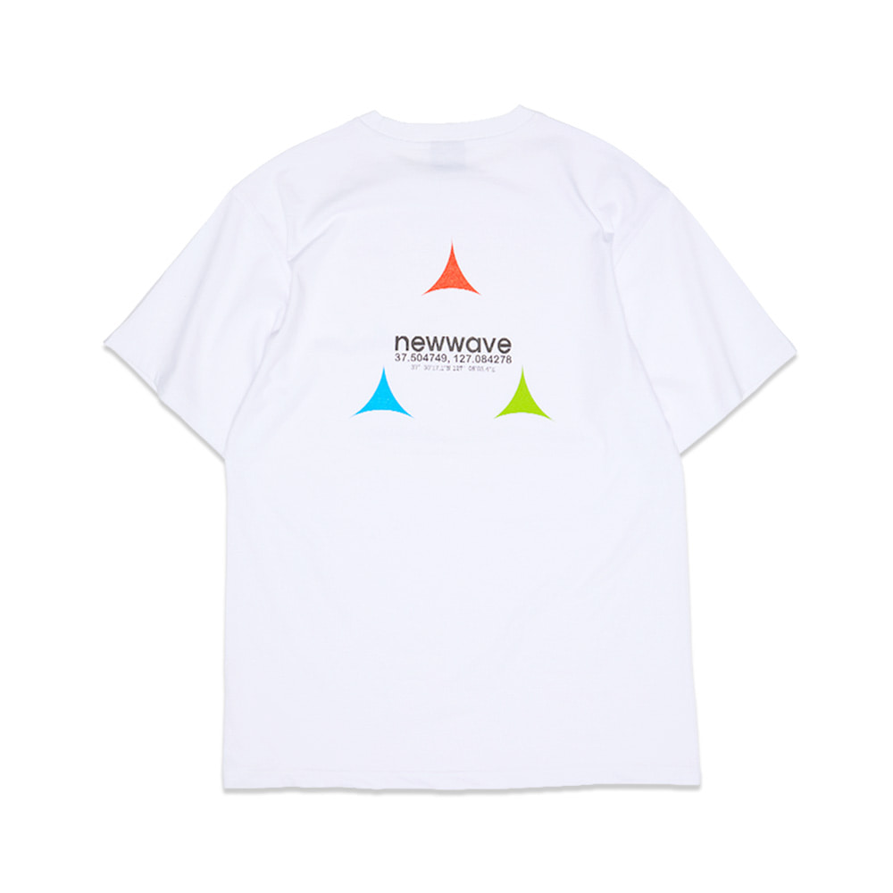 [Feel Enuff] RGB T-SHIRTS - WHITE