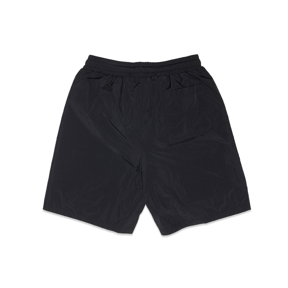 [Feel Enuff] NW NYLON POCKET SHORTS - BLACK