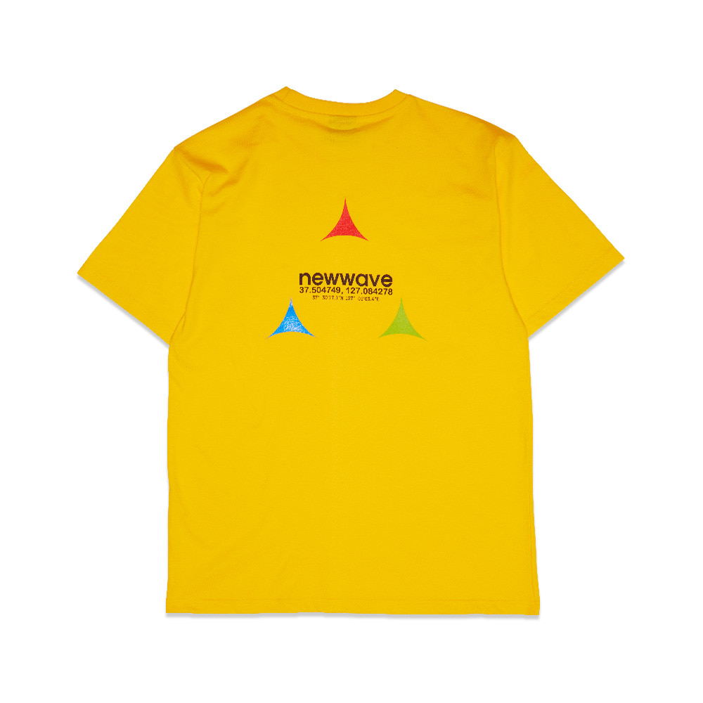 [Feel Enuff] RGB T-SHIRTS - YELLOW