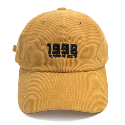 [Fresh anti youth] 1998 Ball Cap - Yellow
