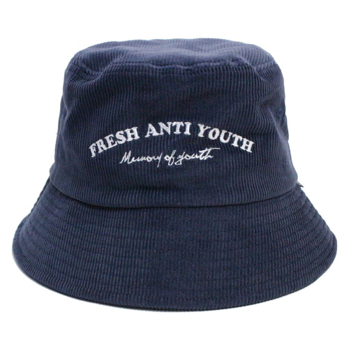 [Fresh anti youth] M.O.Y Bucket Hat - Navy