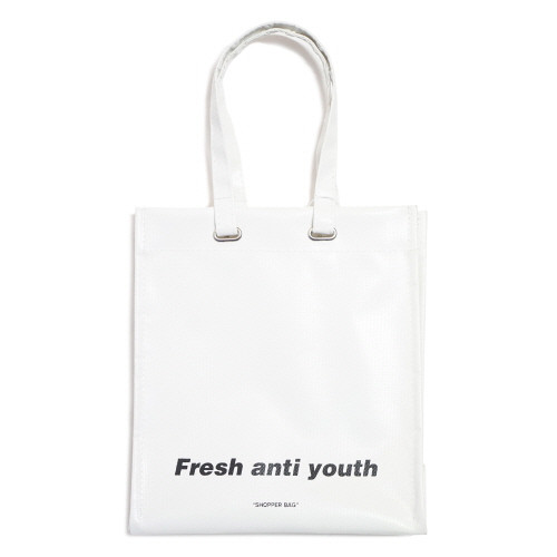[Fresh anti youth] Shopper Bag (S) - White