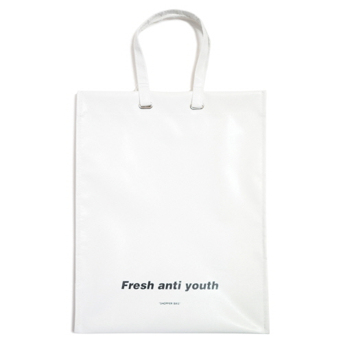 [Fresh anti youth] Shopper Bag (L) - White
