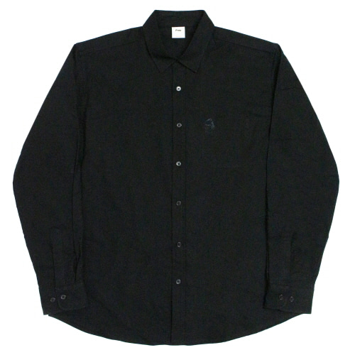 [Fresh anti youth] M.O.Y Oxford-Shirts - Black