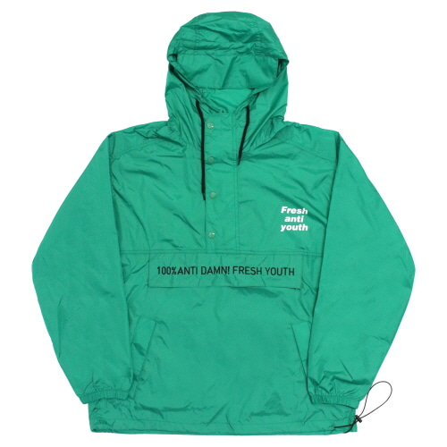 [Fresh anti youth] Anti Damn Anorak-Jacket - Green