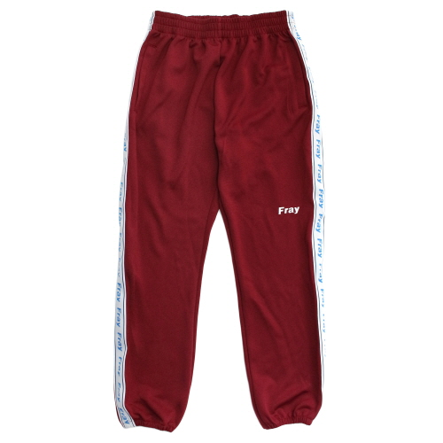 [Fresh anti youth] Jersey Pants - Burgundy