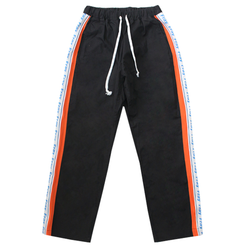 [Fresh anti youth] Combination Pants - Black