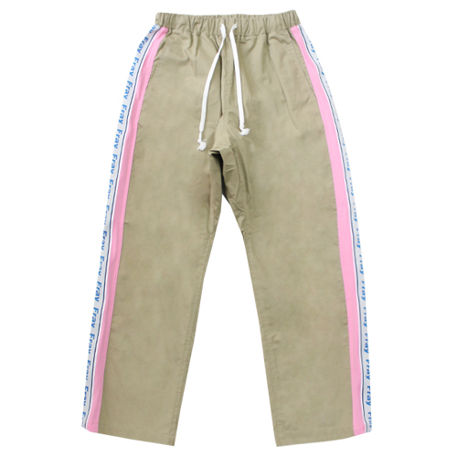 [Fresh anti youth] Combination Pants - Beige