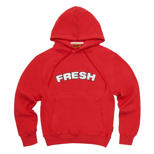 [FRAY] FRESH HOODIE - RED