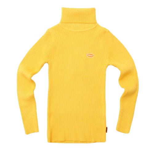 [FRAY] FRAY MOCK NECK - YELLOW