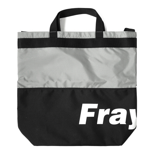 [Fresh anti youth] Fray Logo 2Way Bag - Black
