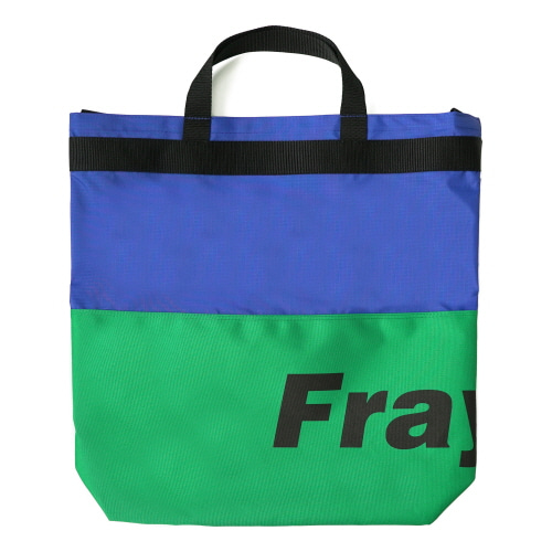 [Fresh anti youth] Fray Logo 2Way Bag - Green