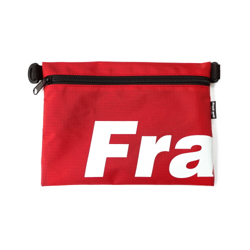 [Fresh anti youth] Fray Pocket Side Bag - Red