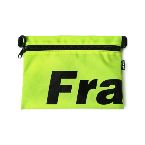 [Fresh anti youth] Fray Pocket Side Bag - Neon Green