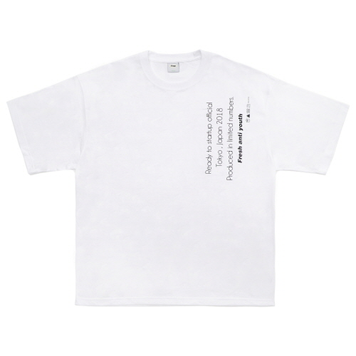 [Fresh anti youth] Reception T-Shirts - White