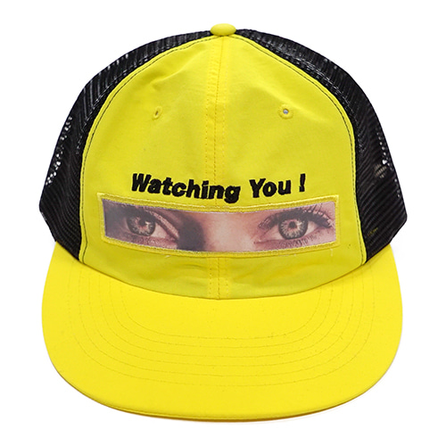 [Fresh anti youth] Watching You Mesh Cap - Yellow