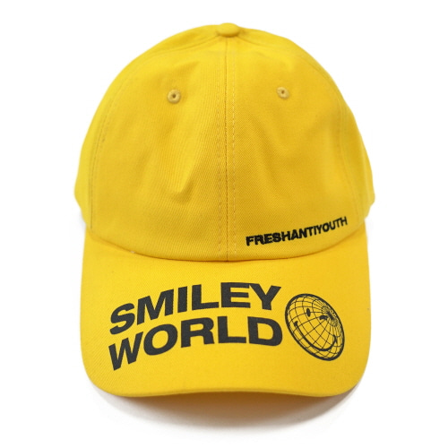 [FRAY x SMILEY] SMILEY WORLD BASEBALL CAP - YELLOW