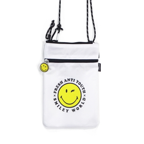 [FRAY x SMILEY] POUCH SHOLDER BAG - OFF WHITE