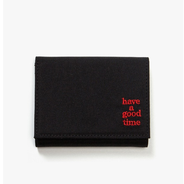[have a good time] LOGO WALLET - Black