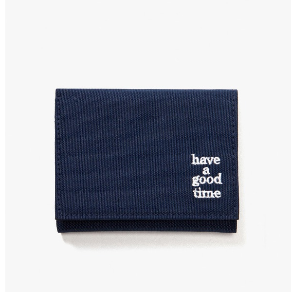 [have a good time] LOGO WALLET - Midnight Blue