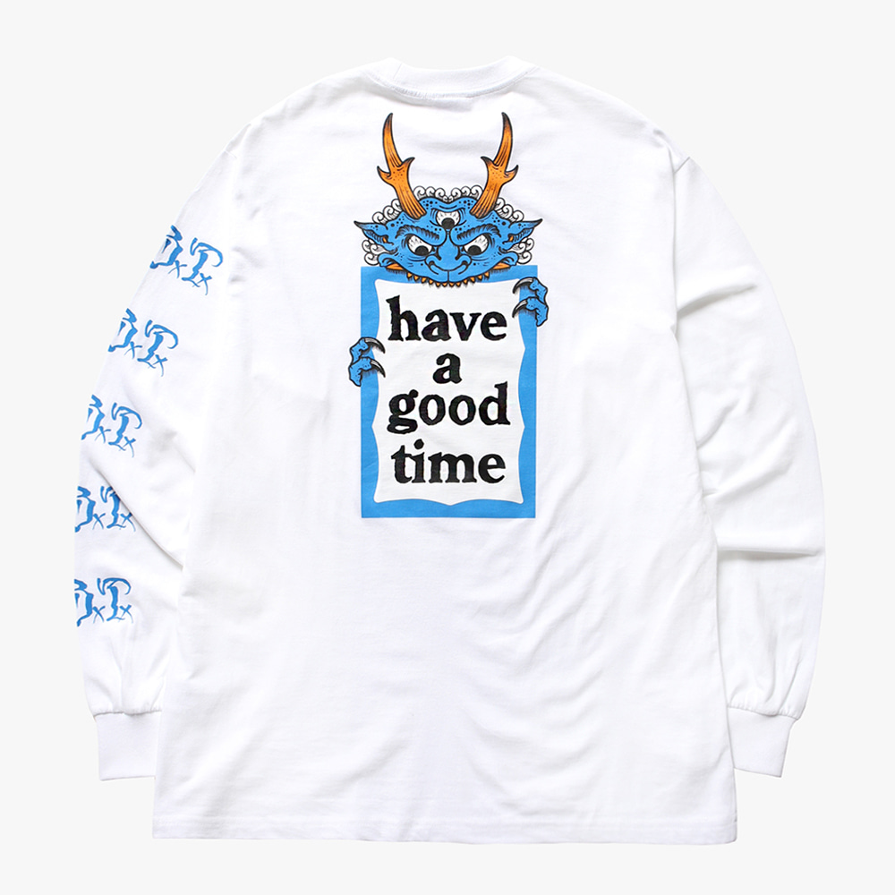 [have a good time] HENBO×G×B×T×haveagoodtime L/S TEE - White