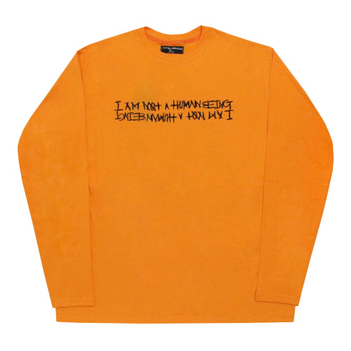 [17FW] LIQUOR & SMOKE Long Sleeve - Orange