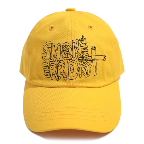 [17FW] Smoke Err Day Ball Cap - Yellow